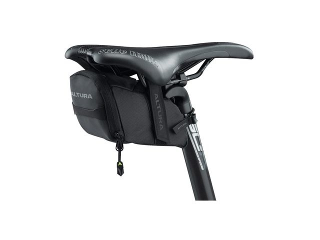 ALTURA Nv Road Saddle Medium Bag: Black 0.6 Litre click to zoom image