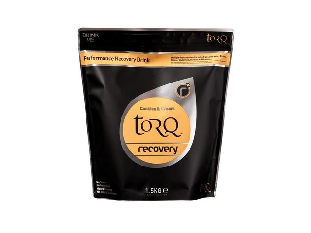 TORQ Recovery Drink (1x 1.5kg) Cookies & Cream click to zoom image
