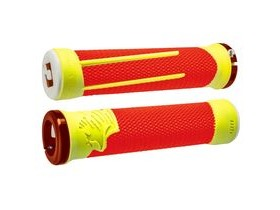 ODI AG2 Grips Orange/Yellow 135mm