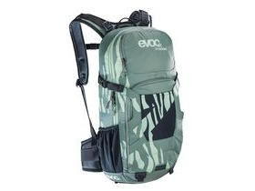 EVOC Fr Enduro Women's Protector Back Pack Olive/Light Petrol