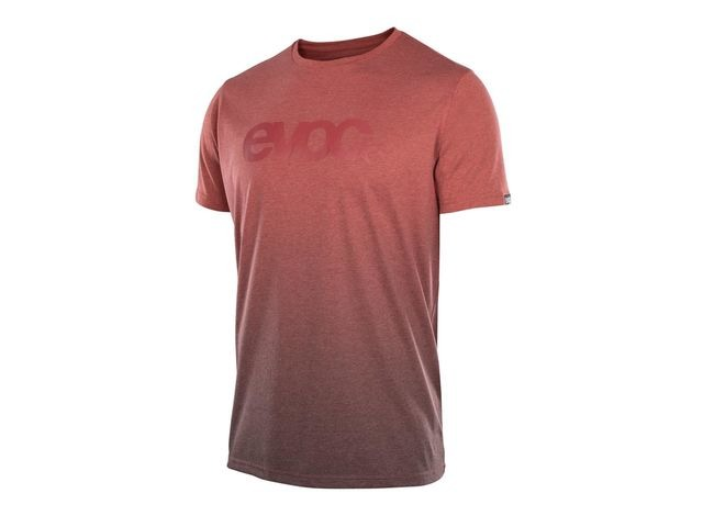 EVOC T-shirt Dry Men's Heather/Chilli Red click to zoom image