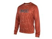 EVOC Long Sleeve Jersey S CHILLI RED  click to zoom image