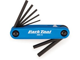 PARK TOOLS Fold-Up Hex Wrench Set: 1.5 To 6 mm