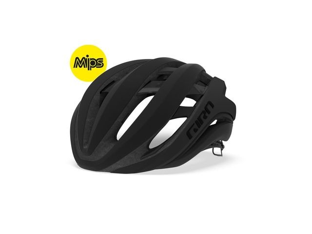 Giro Aether Mips Road Helmet Matt Black click to zoom image