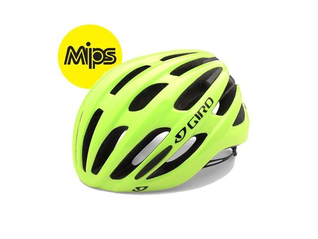 Giro Foray Mips Road Helmet Highlight Yellow click to zoom image
