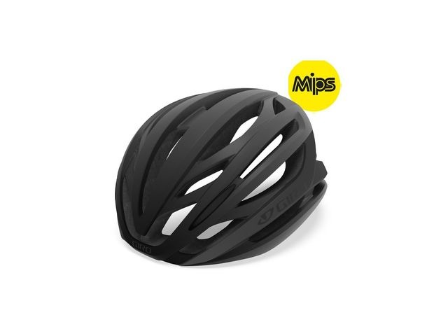 Giro Syntax Mips Road Helmet Matte Black click to zoom image
