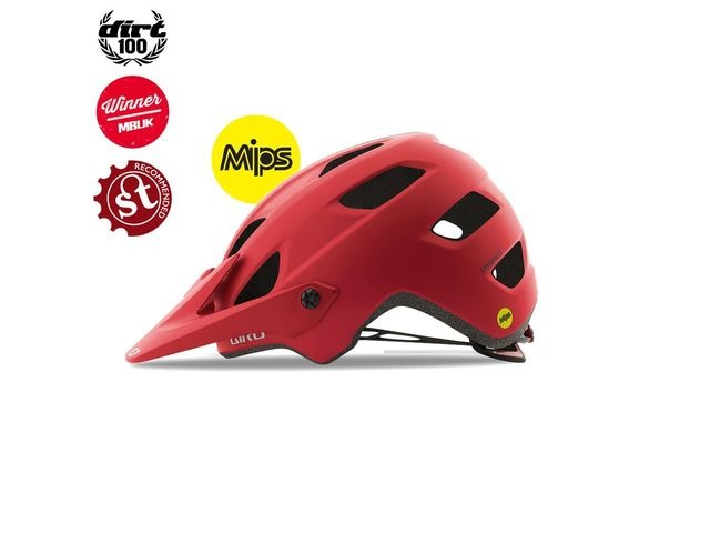 Giro Chronicle Mips Dirt/MTB Helmet Matt Dark Red click to zoom image