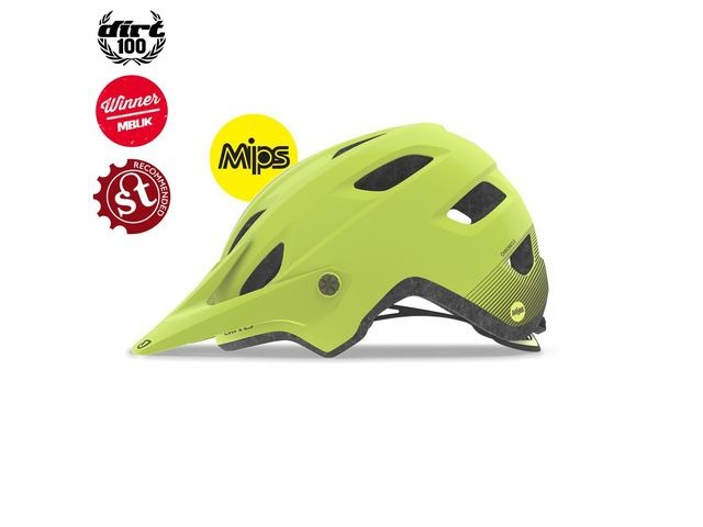 Giro Chronicle Mips Dirt/MTB Helmet Matte Citron click to zoom image