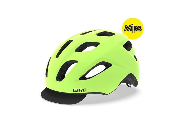 Giro Cormick Mips Urban Helmet Matte Highlight Yellow/Black Unisize 54-61cm click to zoom image