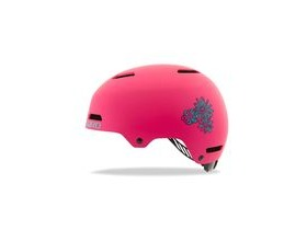 Giro Dime Fs Youth/Junior Helmet Matt Bright Pink Blossom