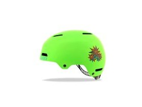 Giro Dime Fs Youth/Junior Helmet Matt Lime Blast