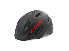 Giro Scamp Youth/Junior Helmet Matt Black