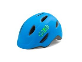 Giro Scamp Youth/Junior Helmet Matt Blue/Lime
