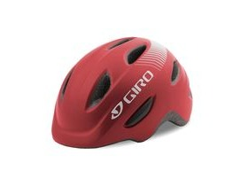 Giro Scamp Youth/Junior Helmet Matt Dark Red