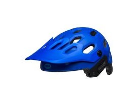 BELL Super 3 MTB Helmet 2019: Matte Blues