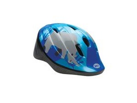 BELL Bellino Child's Helmet 2018: Blue Safari