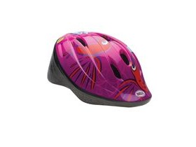 BELL Bellino Child's Helmet 2018: Pink Humming Birds