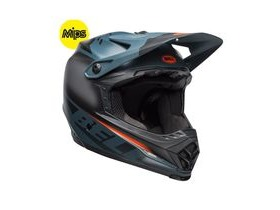 BELL Full-9 Fusion Mips MTB Full Face Helmet 2019: Matte Black/Slate/Orange