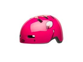 BELL Lil Ripper Children's Helmet 2019: Eyes Gloss Berry Unisize 47-54cm