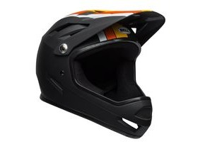 BELL Sanction MTB Full Face Helmet 2019: Agility Matte Black/Yellow/Orange