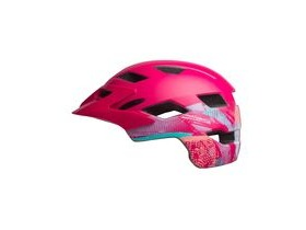 BELL Sidetrack Child Helmet 2019: Gnarly Matte Berry Unisize 47-54cm