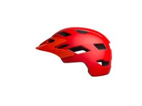 BELL Sidetrack Youth Helmet 2019: Matte Red/Orange Unisize 50-57cm
