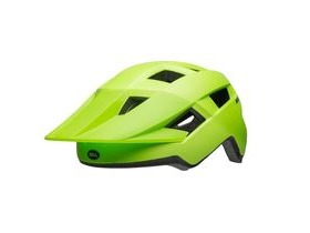 BELL Spark Junior Youth Helmet 2019: Matte Bright Green/Black Unisize 50-57cm