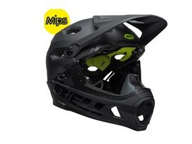 BELL Super Dh Mips MTB Helmet 2018: Matt/Gloss Black