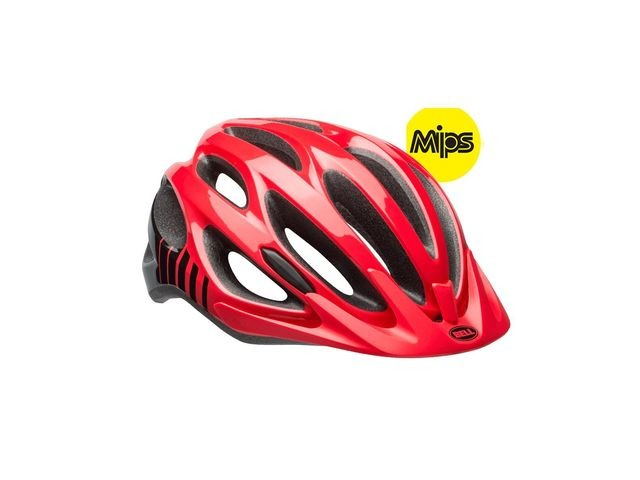 BELL Traverse Mips Unisize (54-61cm) Helmet 2018: Gloss Hibiscus/Black Unisize 54-61cm click to zoom image