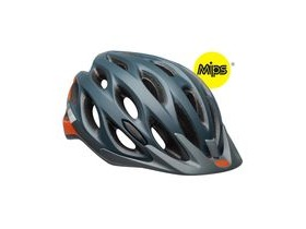 BELL Traverse Mips Unisize (54-61cm) Helmet 2019: Speed Matte Slate/Grey/Orange Unisize 54-61cm