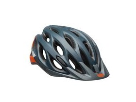 BELL Traverse Unisize (54-61cm) Helmet 2019: Speed Matte Slate/Grey/Orange Unisize 54-61cm