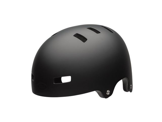 BELL Span Youth Helmet 2018: Matt Black click to zoom image