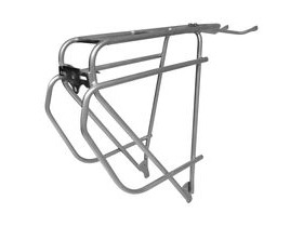 TORTEC Epic Stainless Steel Rear Rack Silver Silver 26-700c