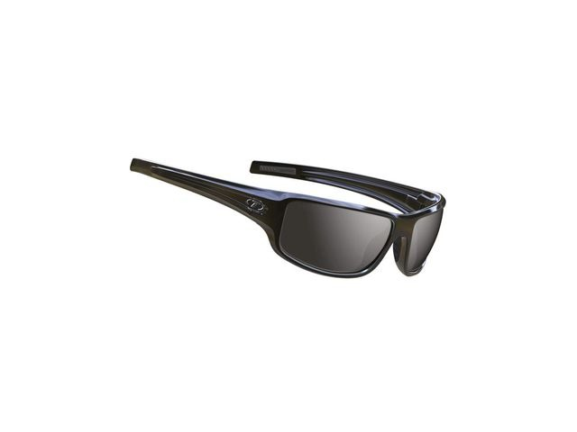 TIFOSI Bronx Full Frame Sunglasses Gloss Black/Smoke click to zoom image