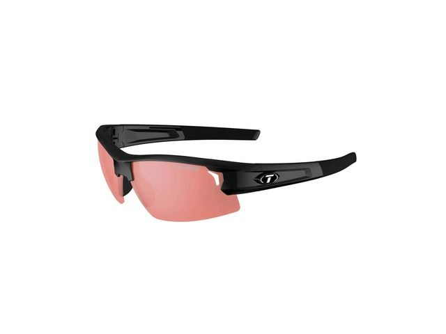 TIFOSI Synapse Single Lens Sunglasses Gloss Black/Fototec High Speed Red click to zoom image