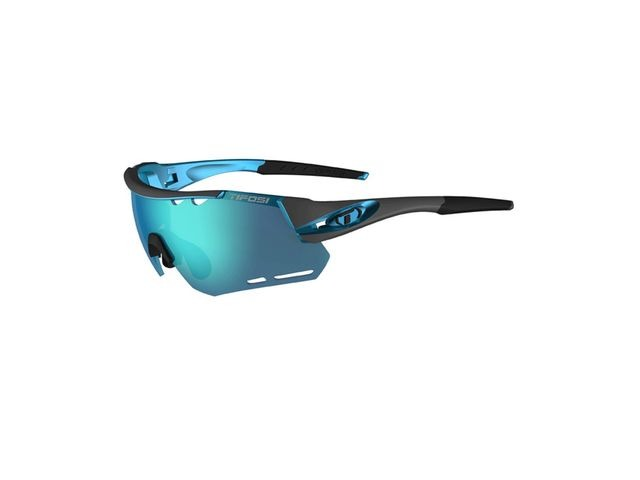 TIFOSI Alliant Interchangeable Clarion Blue Lens Sunglasses Gunmetal/Blue Clarion click to zoom image