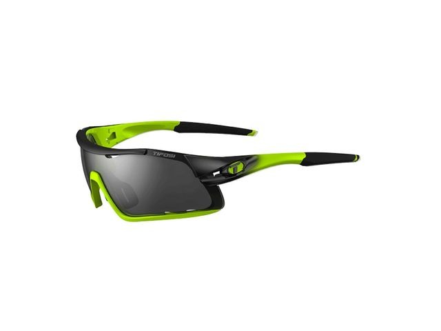 TIFOSI Davos Interchangeable Lens Sunglasses Race Neon click to zoom image
