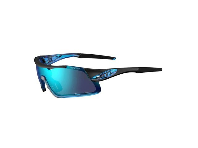 TIFOSI Davos Interchangeable Clarion Blue Lens Sunglasses Crystal Blue/Clarion Blue click to zoom image