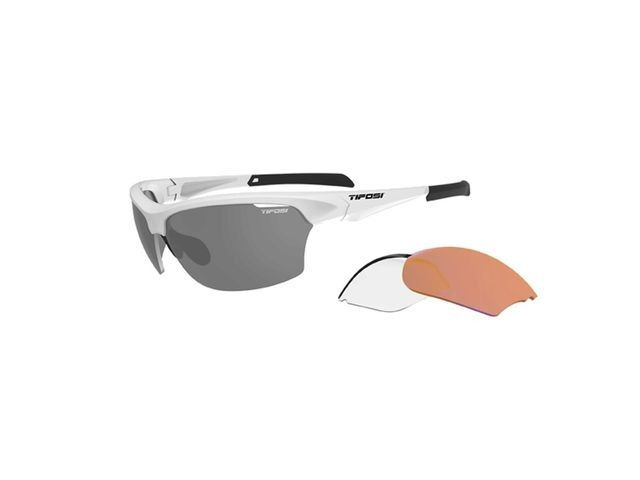 TIFOSI Intense Interchangable Lens Sunglasses Matt White click to zoom image