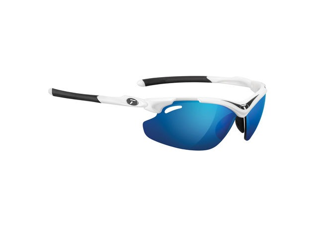 TIFOSI Tyrant 2.0 White/Black Clarion Blue Lens Sunglasses Black Clarion Red click to zoom image