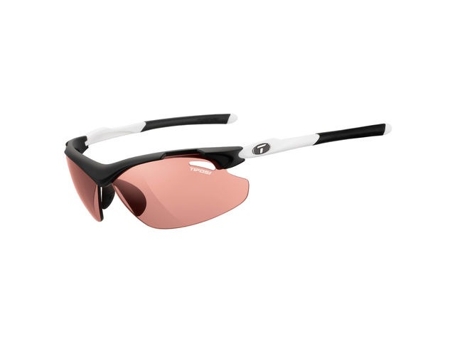 TIFOSI Tyrant 2.0 Black/White Fototec Hs Red Lens Sunglasses Black/White click to zoom image