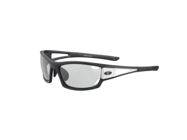 TIFOSI Dolomite 2.0 Black/White Fototec Light Night Lens Sunglasses Black/White click to zoom image