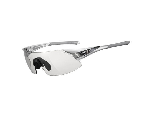 TIFOSI Podium Xc Silver/Gunmetal Fototec Light Night Lens Sunglasses Silver/Gunmetal click to zoom image
