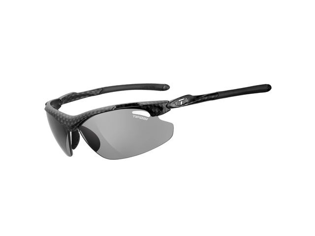 TIFOSI Tyrant 2.0 Carbon Polarised Fototec Photochromic Smoke Lens Sunglasses Carbon click to zoom image