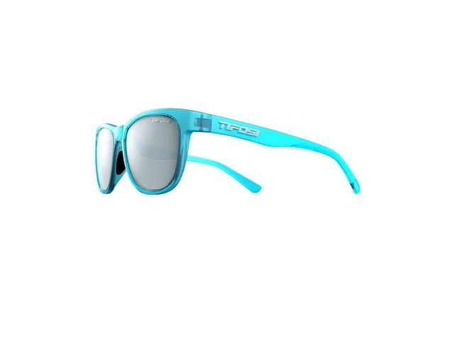 TIFOSI Swank Single Lens Eyewear 2019 Crystal Sky Blue/Smoke Bright Blue click to zoom image