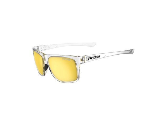 TIFOSI Swick Single Lens Eyewear 2019 Crystal Clear/Smoke Yellow click to zoom image