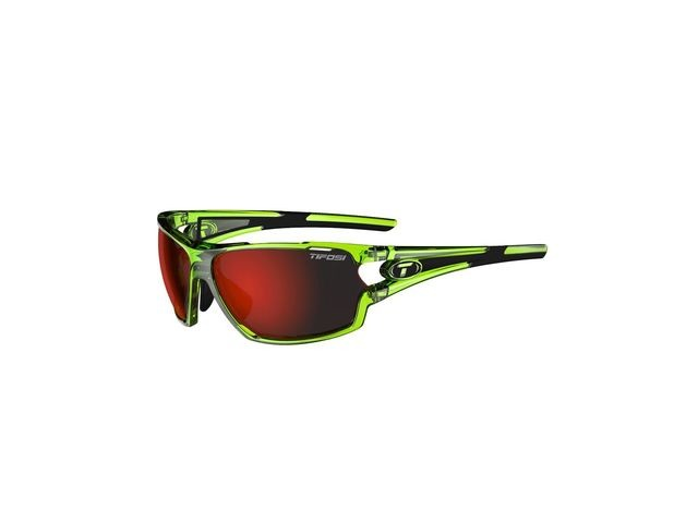 TIFOSI Amok Clarion Red Interchangeable Lens Eyewear 2019 Crystal Neon Green/Red Clarion click to zoom image