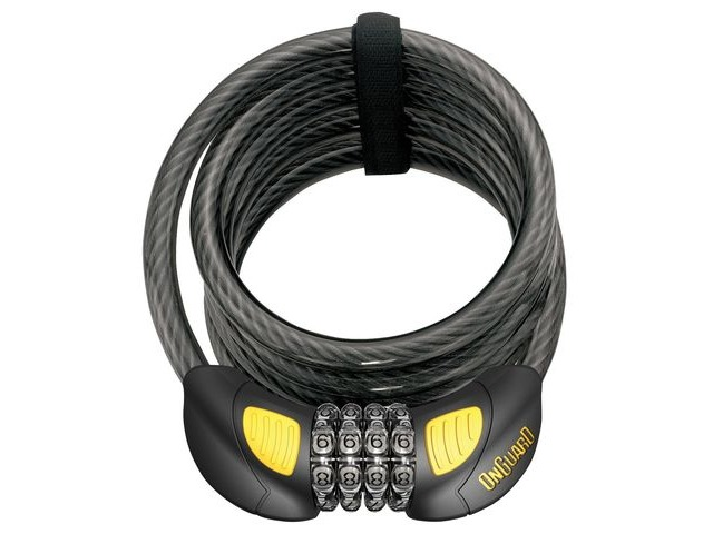 ONGUARD Doberman Combo 8031 GLO Cable Lock click to zoom image