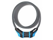 ONGUARD Neon Combo Cable Lock 180cm x 10mm 10mm Blue  click to zoom image