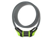 ONGUARD Neon Combo Cable Lock 180cm x 12mm 12mm Gree  click to zoom image